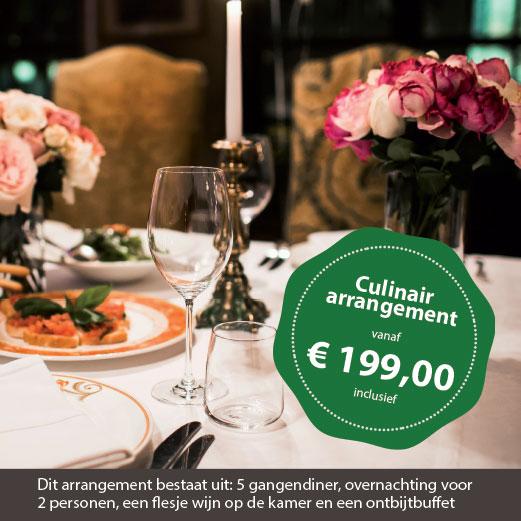 Culinair-arrangement hof van alexander zeeland